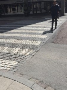 sweden crosswalk